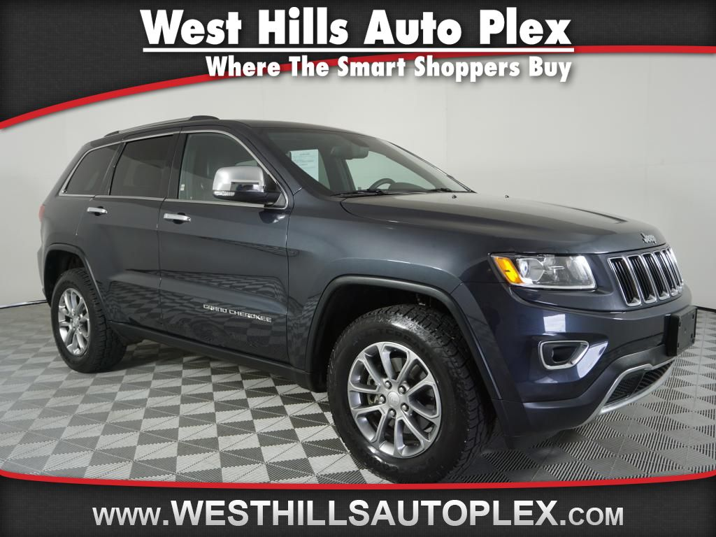 Jeep Certified Pre-Owned >> Certified Pre Owned 2014 Jeep Grand Cherokee Limited 4wd 4dr In
