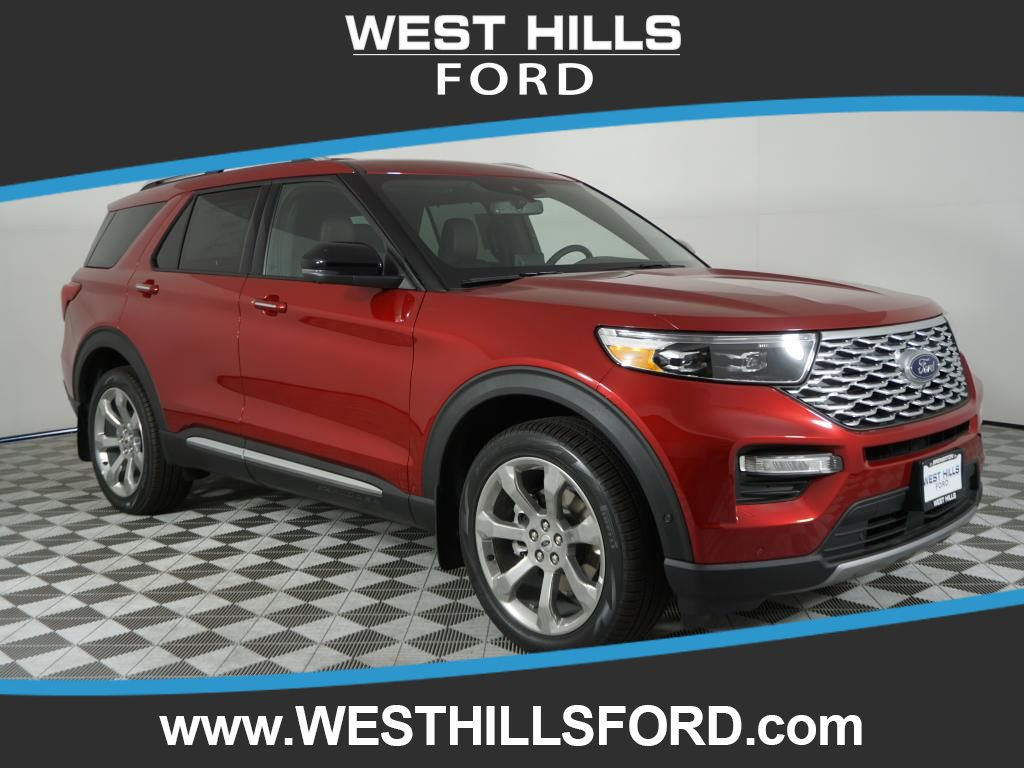 New 2020 Ford Explorer Platinum With Navigation 4wd