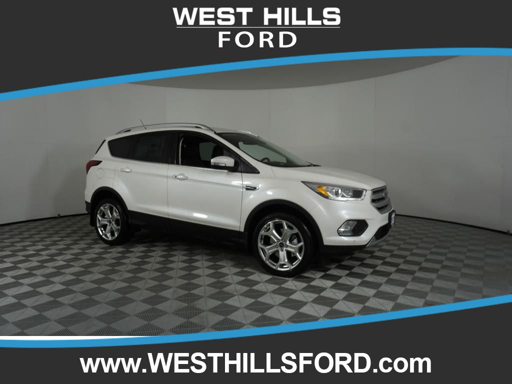 Ford Escape Titanium >> New 2019 Ford Escape Titanium 4wd In Bremerton Fo2323 West Hills