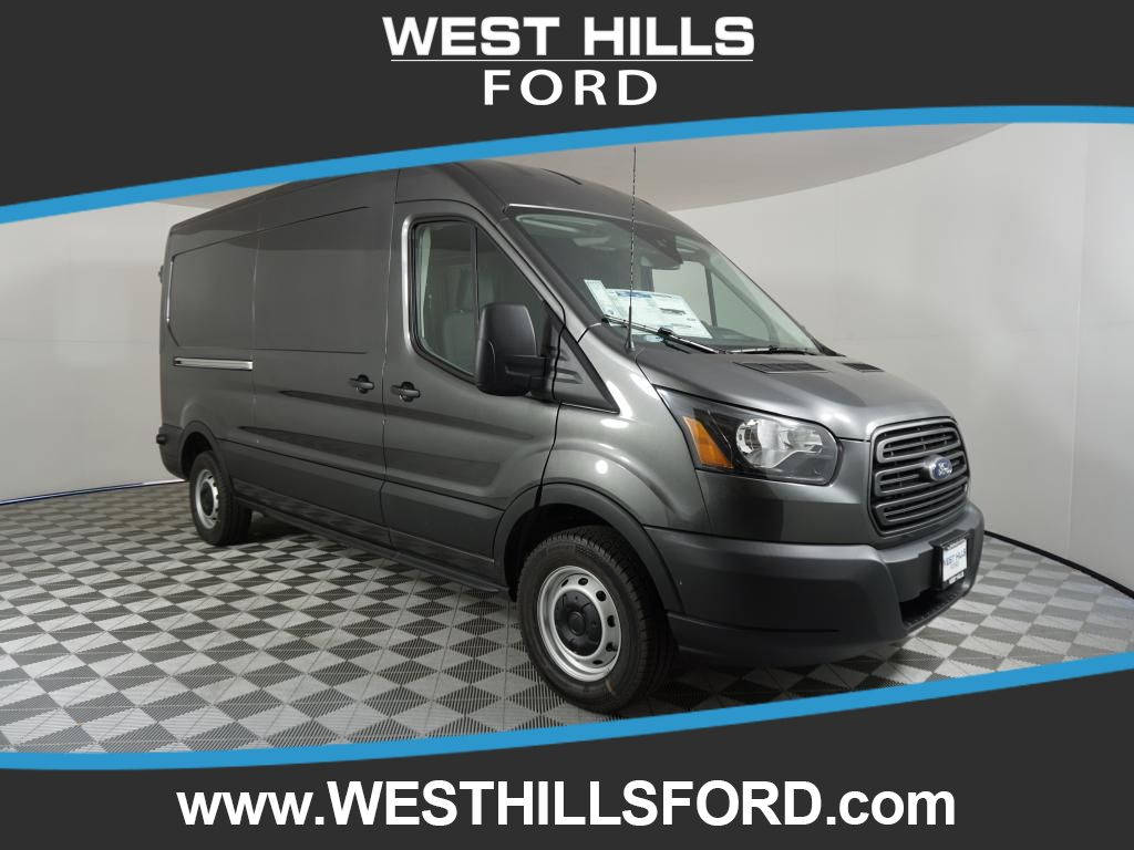 New 2019 Ford Transit Van T-150 Med Roof Slide Base