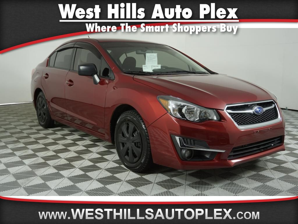Pre-Owned 2016 Subaru Impreza Base