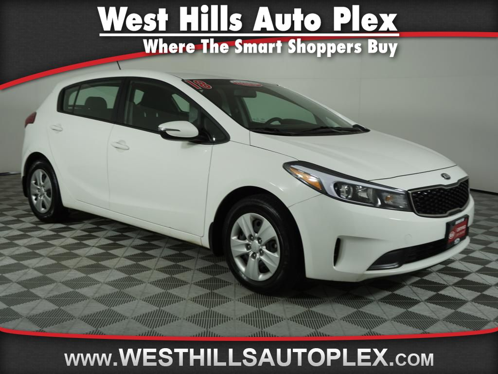 Kia Certified Pre-Owned >> Certified Pre Owned 2018 Kia Forte5 Lx Fwd Auto