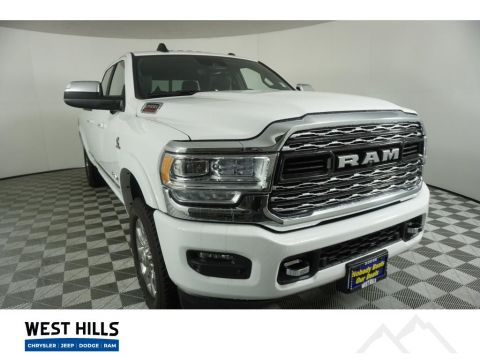New 2019 Ram 2500 Limited With Navigation & 4WD
