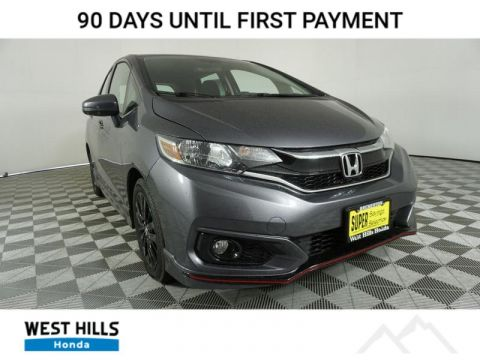 New 2020 Honda Fit Sport FWD 4 Door Hatchback