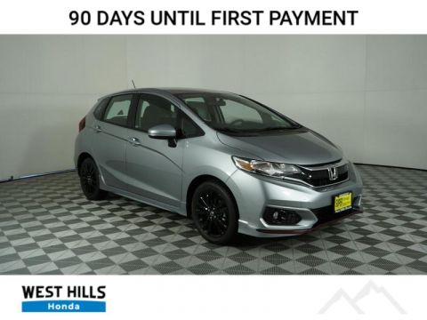 New 2019 Honda Fit Sport FWD CVT